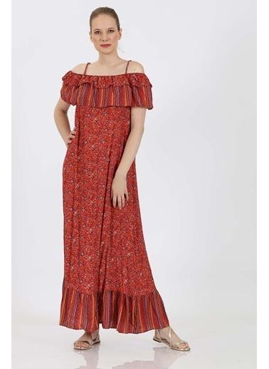 Vitrin Elbise Kırmızı
